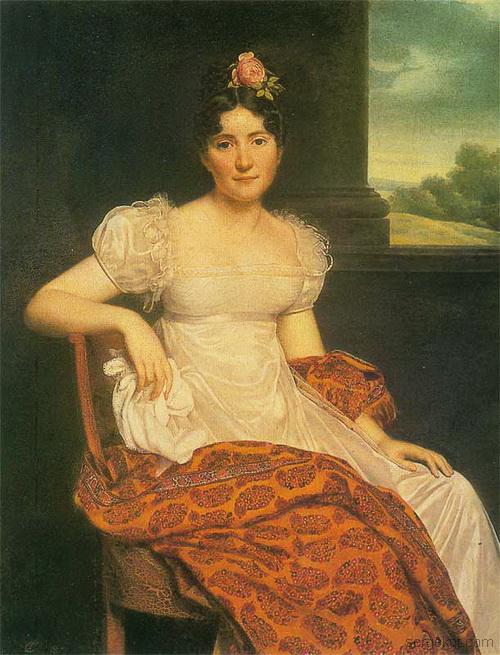 Анри Франсуа Ризенер. Портрет Жозефины Фридрихс. 1813 г. Эрмитаж-