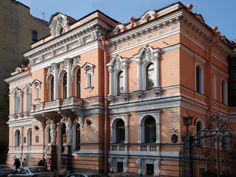 Фурштадская, 58, Фасад-