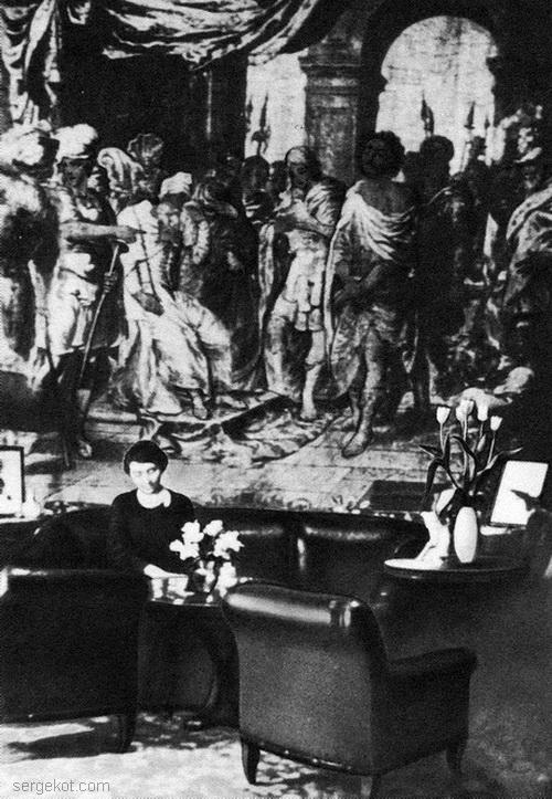 Спичинцы, Гобелен из собрания в усадьбе Тышкевичей, примерно 1914 год.