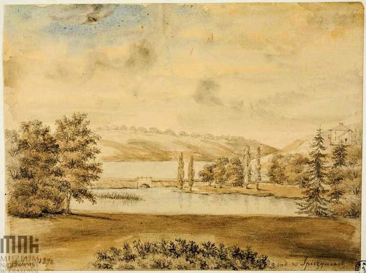 spinczyce-widok-ogrodu-nad-rzeka-rosia