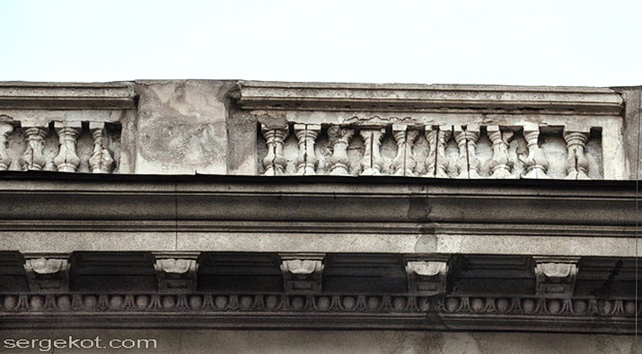 Одесса, Бессарабско-Таврический банк. Балюстрада