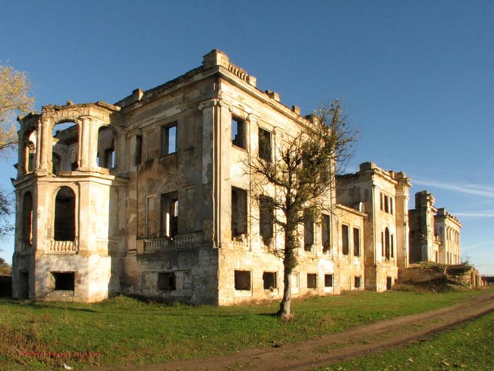 Васильевка. Парковый фасад
