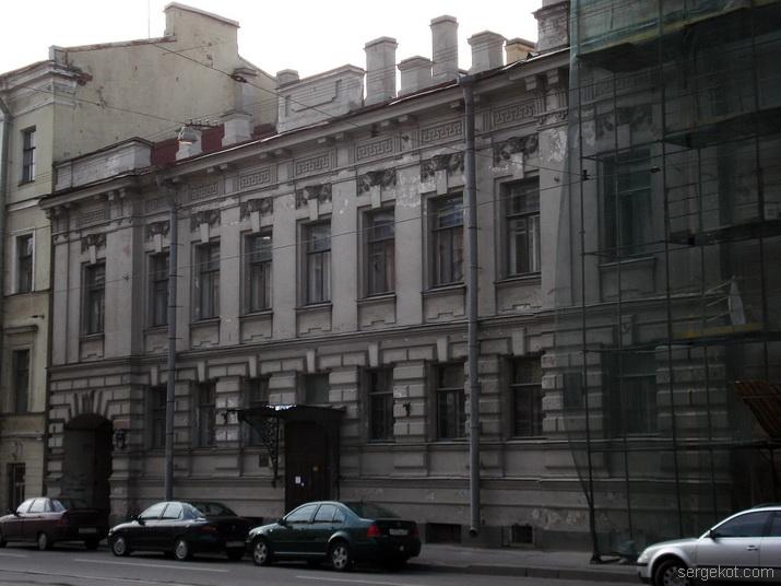 Дворец вел. кн. Кирилла Владимировича. Главный фасад