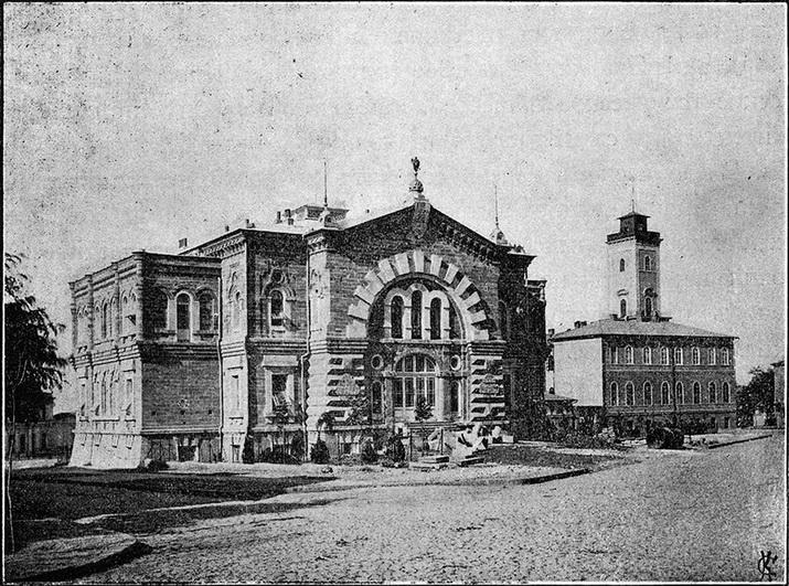 Здание ООИРТО, между 1892 и 1900