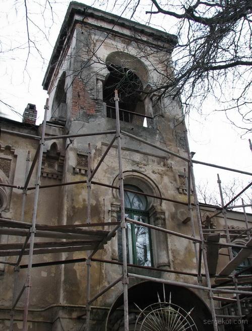 Одесса, Французский бульвар, дача Макареско-Рашевского. Башня.-. (2)