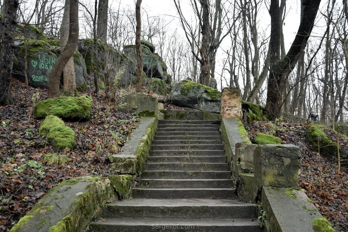 Печера парк. Лестница