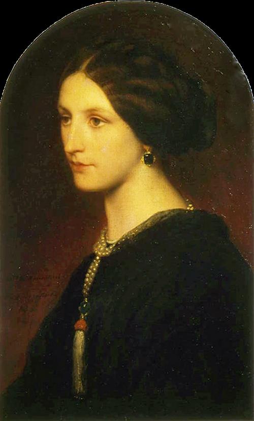 Софья_Шувалова_1853-Поль Деларош