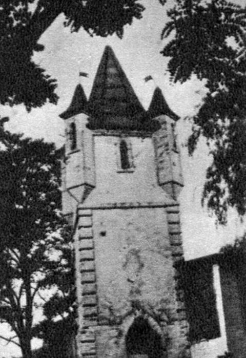 Сутиски, башня, из книги Малакова.