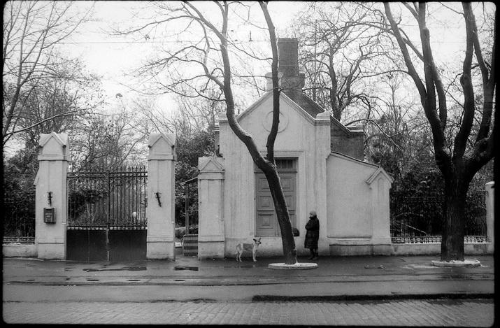 Французский бульвар, 52, Ворота. Фото Александра Носовского
