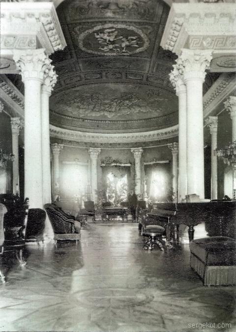 Черномин. 1914. Главный зал.