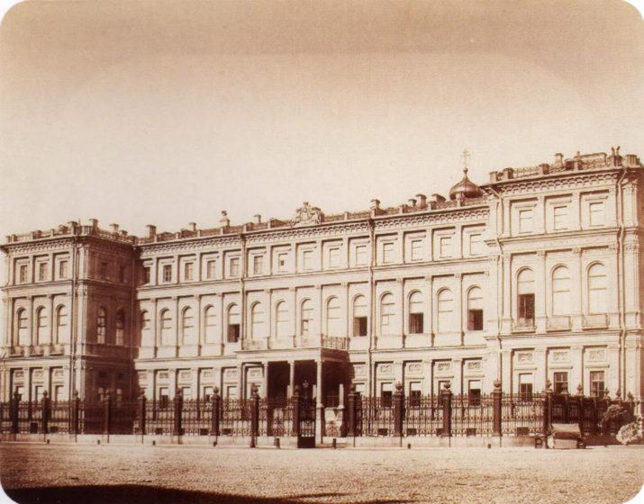 Гуи (издание А. Фельтена), Дворец в. к. Николая Николаевича, 1850—60-е, отпечаток на альбуминовой бумаге