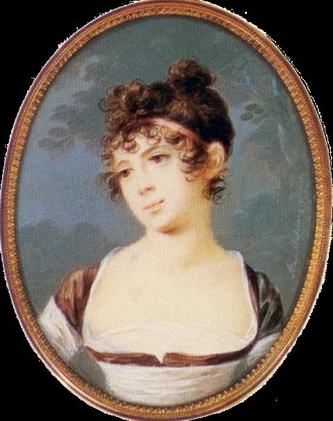 Ольга Станиславовна Нарышкина, урожденная графиня Потоцкая.