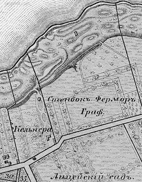 Дача графа Стенбок-Фермор, 1864