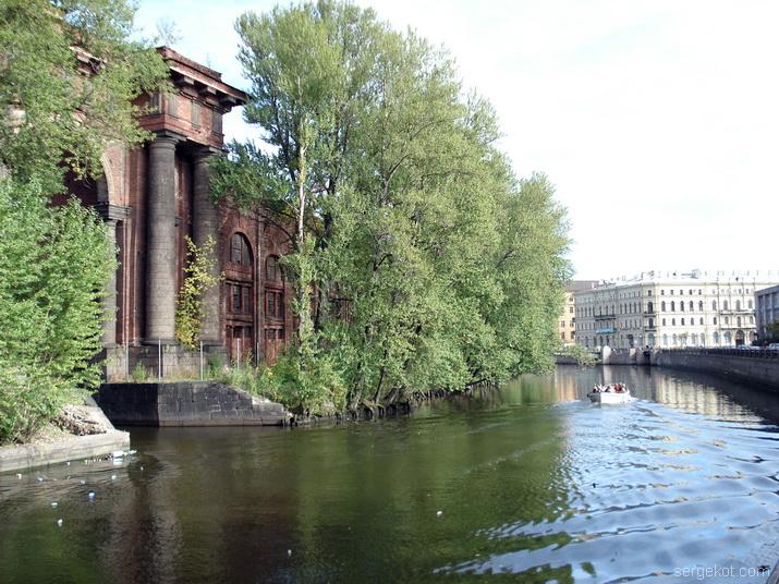 Санкт-Петербург. Новая Голландия.