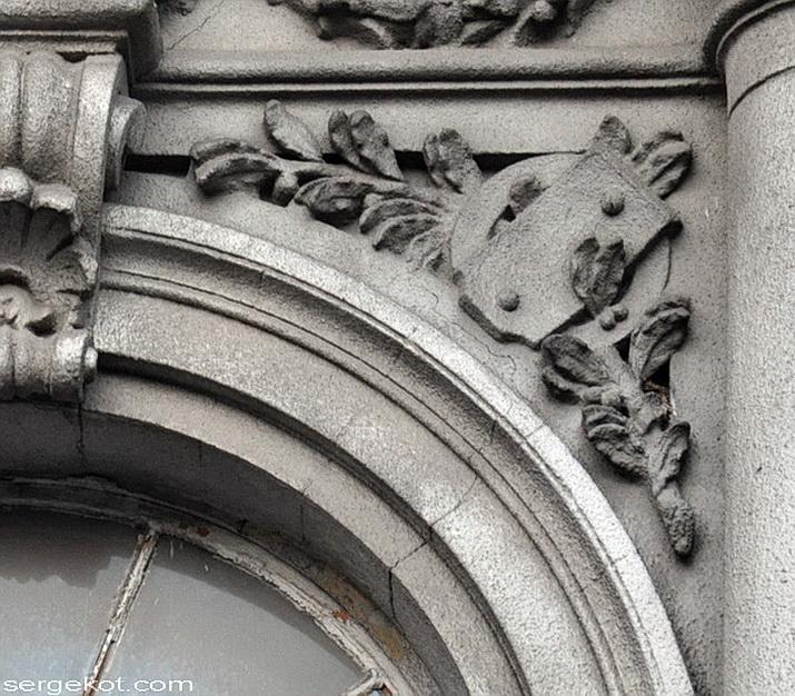 Бессарабско-Таврический банк. Детали фасада.