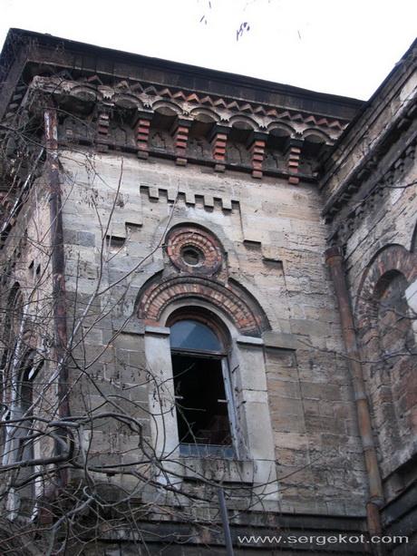 Одесса, ИРТО, дворовой фасад.