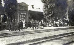Вокзал и башня в Тальном