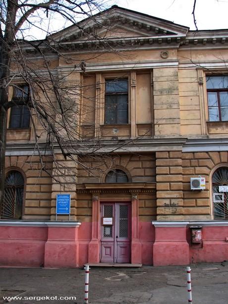 Валиховский переулок 5. Ризалит.