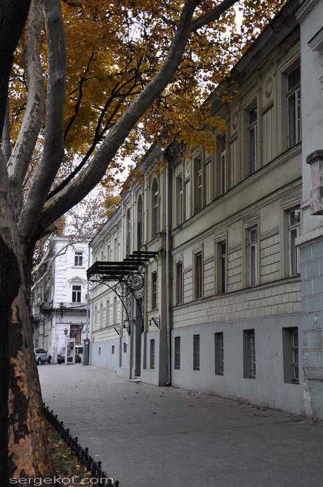 Одесса, ул. Пушкинская, 4. Дом Маразли. Главный фасад.