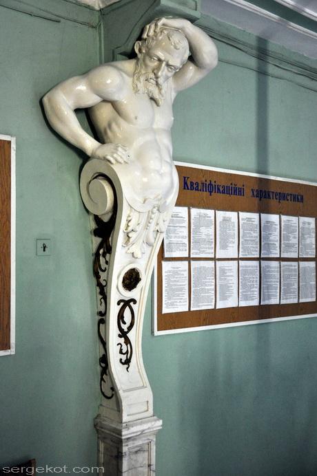 Одесса, Пушкинская 4, дом Маразли. Атлант.