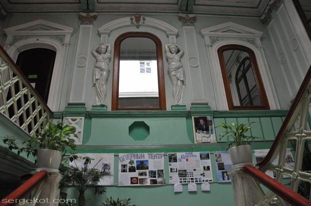 Одесса, Пушкинская 4. Дом Маразли. Лестница.