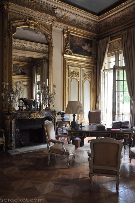 Paris. 25 Avenue Friedland. L'hôtel Potocki. chambre de la comtesse.