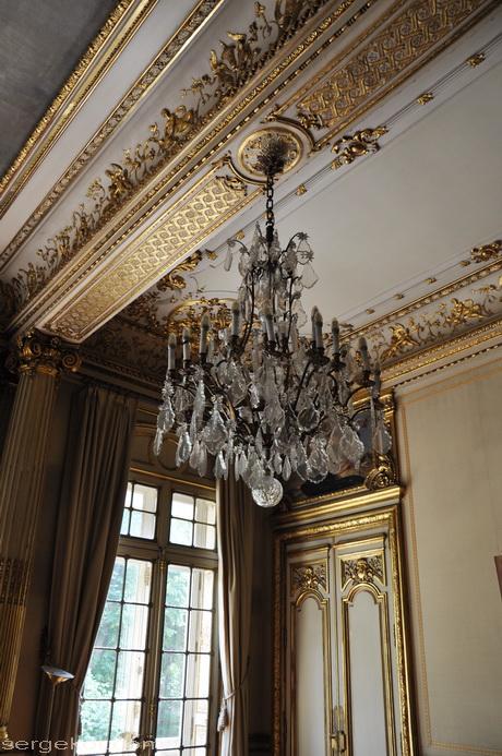 Paris. 25 Avenue Friedland. L'hôtel Potocki. Le chambre de la comtesse.