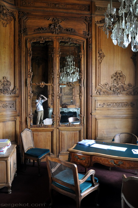 Париж. Дворец Николая Потоцкого. Курительная комната.