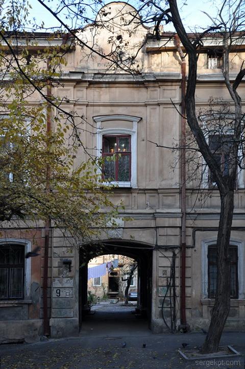 Княжеская 9, Ризалит, фасад