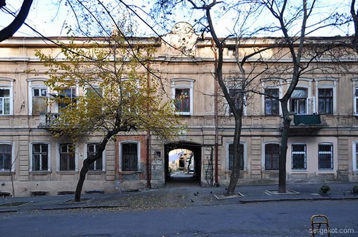 Княжеская, Фасад.