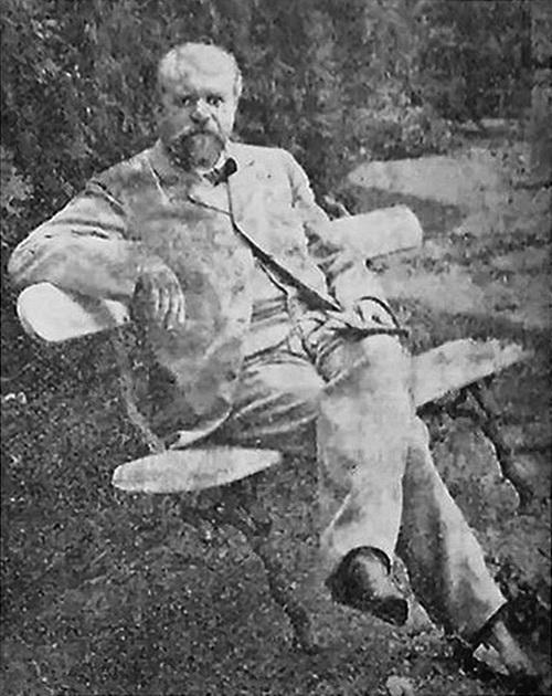Николай Толвинский, 1900.