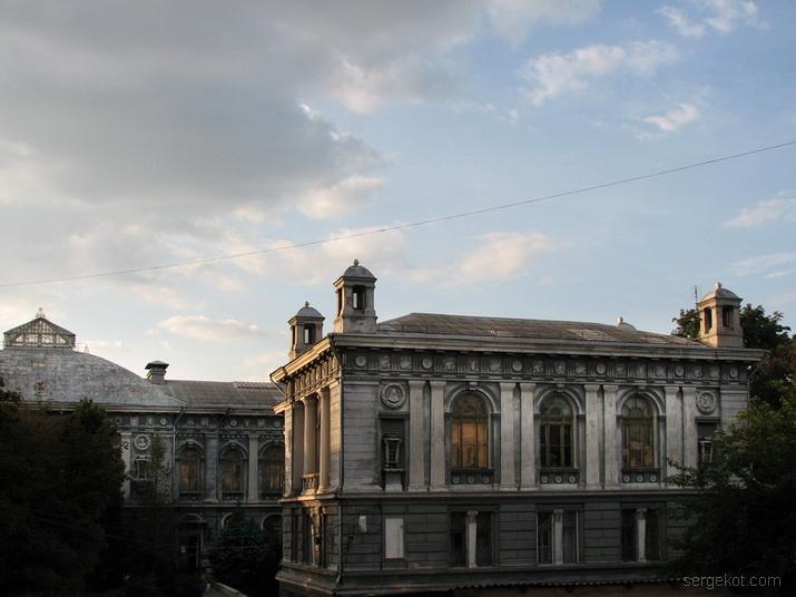 Валиховский переулок, 3. Двор.