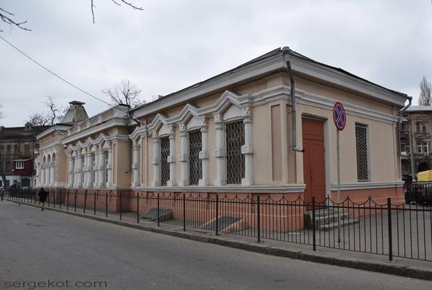 Одесса, Книжный переулок. Библиотека Маразли.