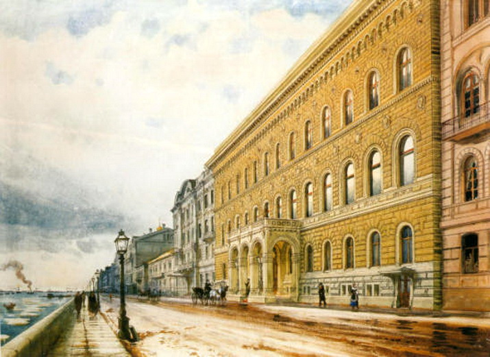 Владимирский дворец, Бенуа,