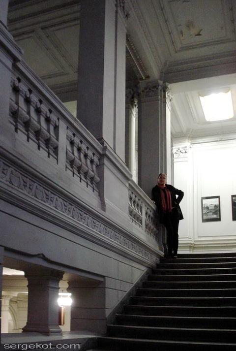 банк, парадная лестница,