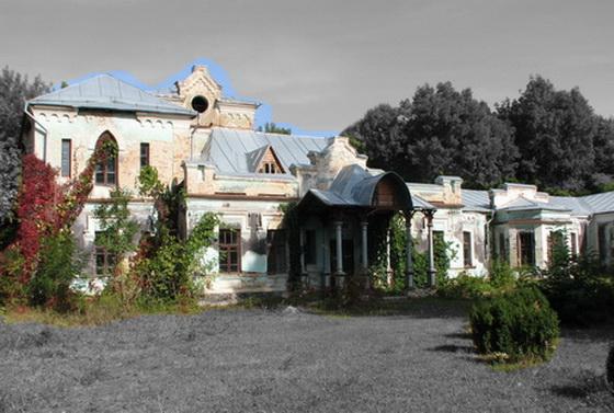 Тимановка, Шереметев, усадьба