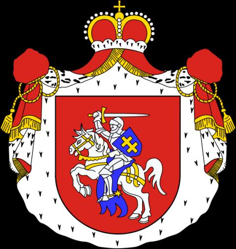 COA Pogoń Litewska Książęca