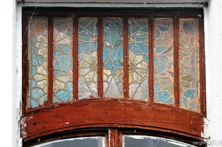 Витраж бокового окна