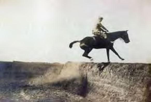 Тадеуш Даховский на частных соревнованиях в Антонинах, 1901