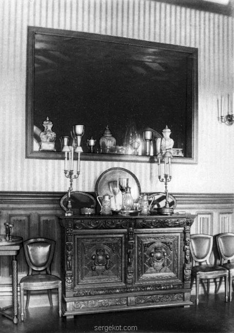 Леськова. Фрагмент Столовой. до 1917 года.