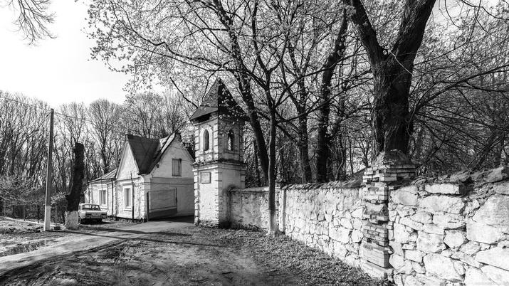 Ворота усадьбы Гейденов. Сутиски.