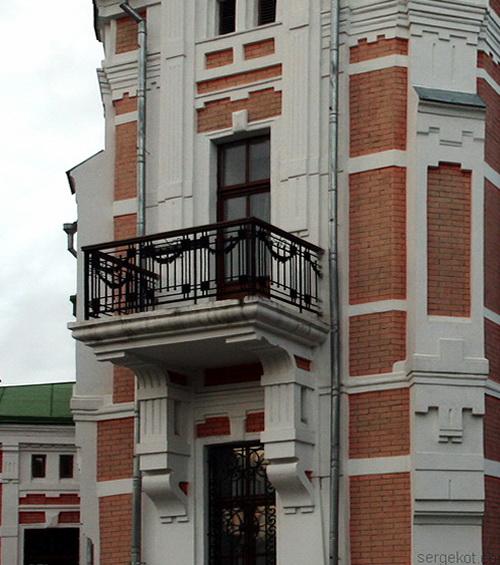 Томашовка. Балкон