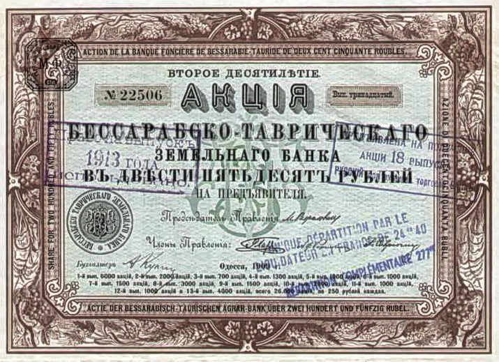 Акции БТБ 250 рублей