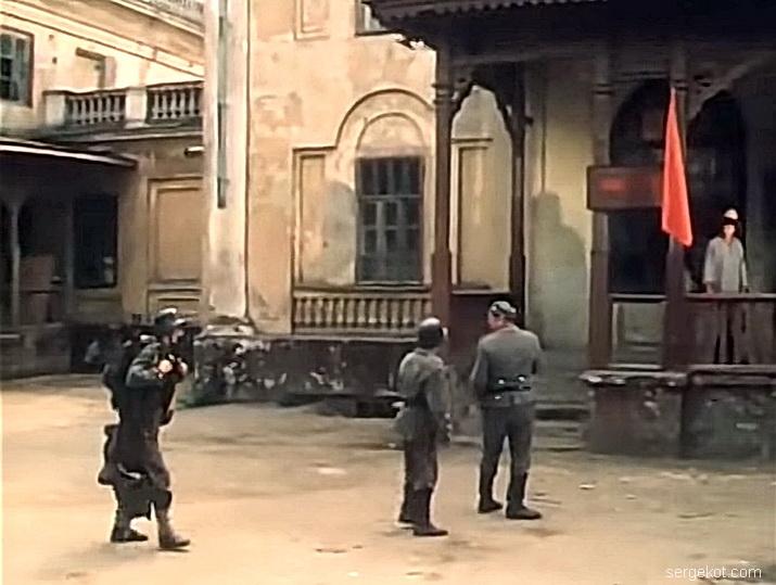 Васильевка, 1983 год. кадры из фильма Я сын трудового народа.1