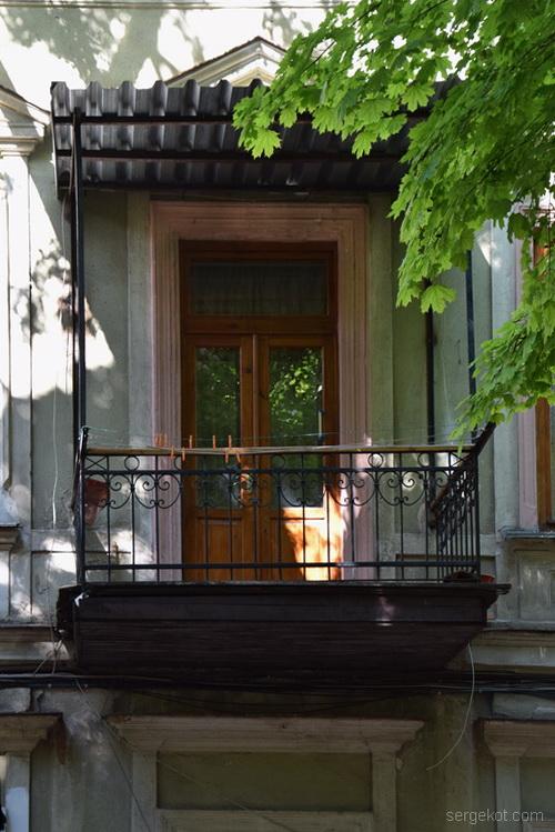 Княжеская 13, балкон правый