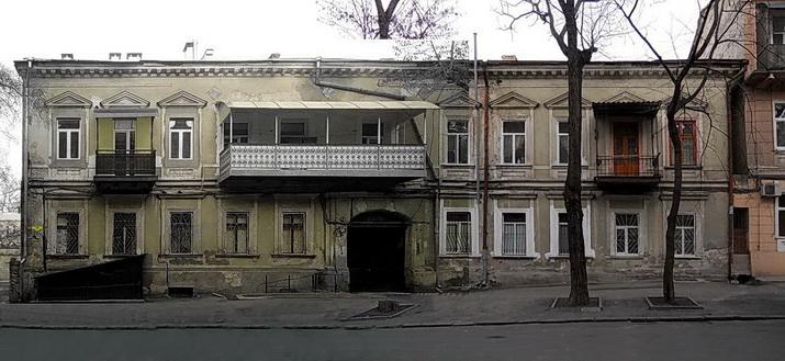 Княжеская 13. Фасад.
