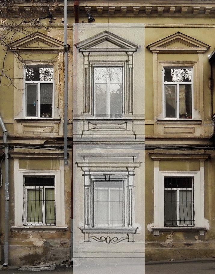 окна сравнение 1854 и 2016