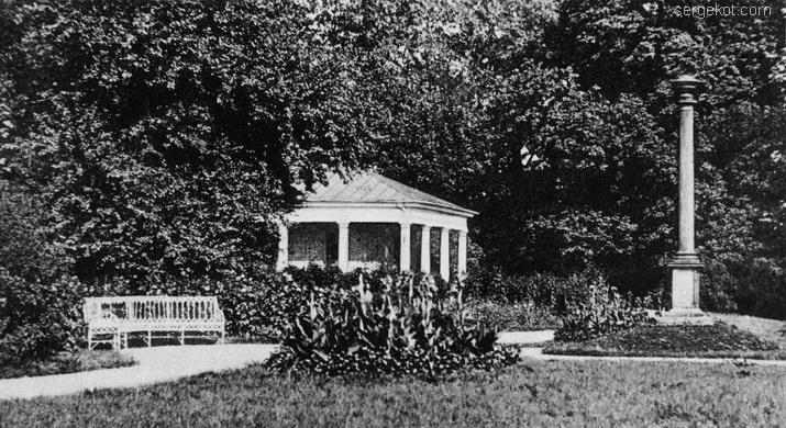 Александрия. Турецкий павильон и колона Иенса, ~1914.