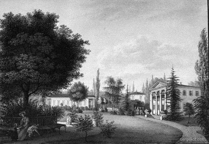 Александрия. Главная площадь павильонов.