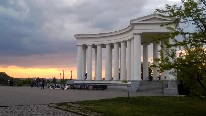 Колоннада Воронцовского дворца, 2014.